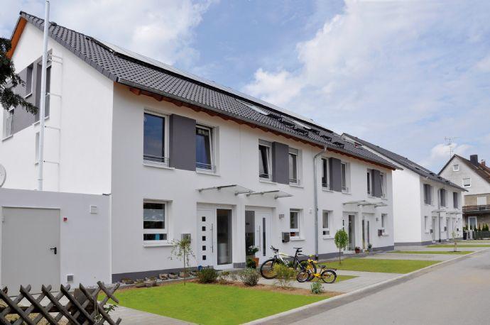 Reihenhaus statt Wohnung: Neubau von Reihenhäusern mit 136 m² Wfl. in zentraler Lage von Offenburg!