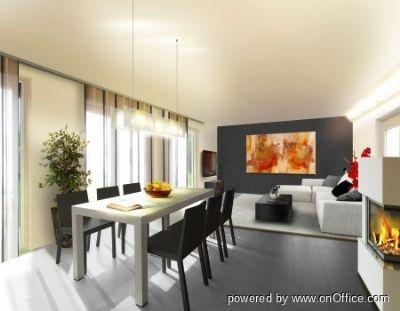 Gestaltungsidee Wohn-Essbereich