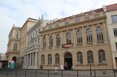 Leitfassaden am Alten Markt