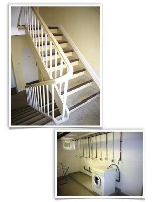 Treppenhaus/Waschküche