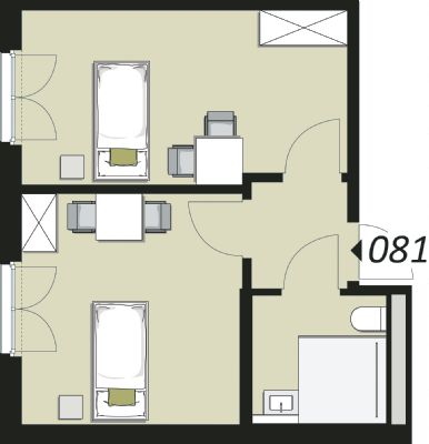 Beispielgrundriss Doublette 081