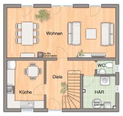 Flair 113 Grundriss Erdgeschoss