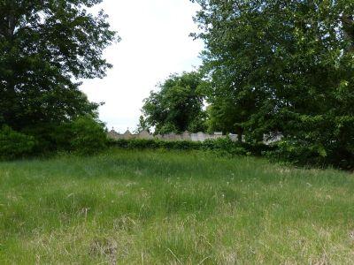 Blick zum Friedhof
