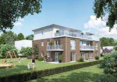 barrierefreie niedrigenergie neubauwohnung mit terrasse zum wohlf hlen in ruhiger lage in. Black Bedroom Furniture Sets. Home Design Ideas