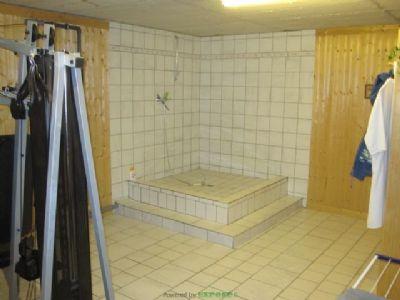 Sauna Duschanlage