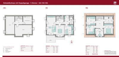 Grundrisse Einfamilienhaus KUGLER 26