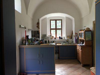Sommerküche im EG mit Ausgang zum Garten