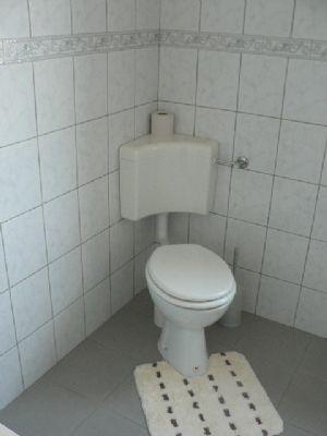 WC in einer Ferienwohnung