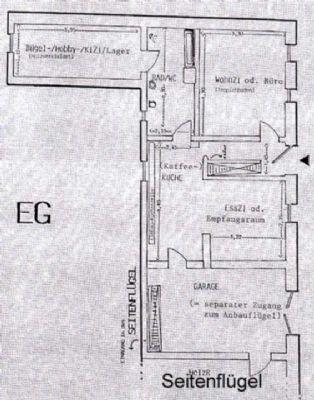 Grundriss EG Haupthaus