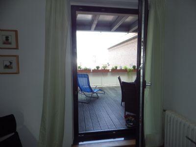 Eine Dachterrasse im 1.OG