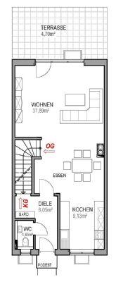EG Wfl. ca. 59,40m²