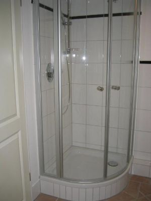 Duschbad im Souterrain