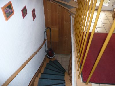 Treppe zum KG