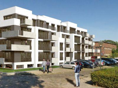Neubau 3 zimmer wohnung mit terrasse und gro em garten im theaterviertel der stadt brandenburg - Wohnung mit garten brandenburg an der havel ...