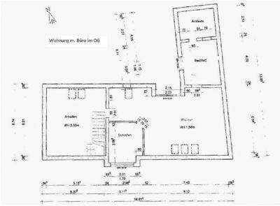 Grundriss WGH_ OG Wohnen/Arbeiten