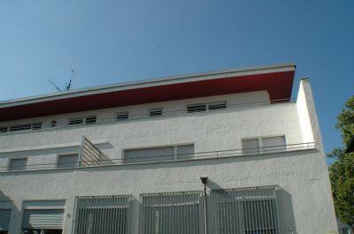Rückfront mit Balkon