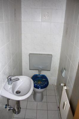 Ansicht vom Gäste-WC im EG