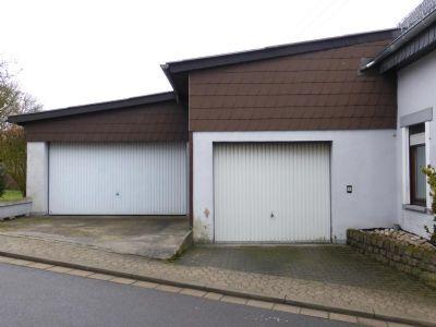 Garage und Doppelgarage