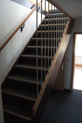 Treppe zum Schlafzimmer