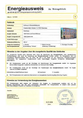 Energieausweis Seite 1