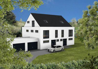 DHH mit Garage und Hauszugang