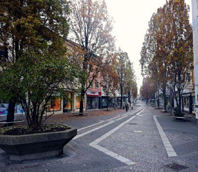 Fußgänger-Zone Speyerer Straße
