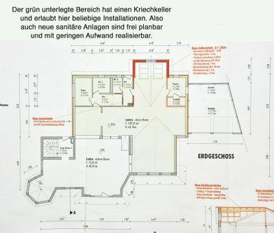 Bauzeichnung-Kennzeichnung Keller