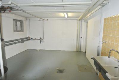 Kellerraum (Heizung und Waschraum)