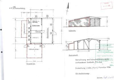 Hühnerstall mit Voliere 2, Werkstatt + Abstellraum
