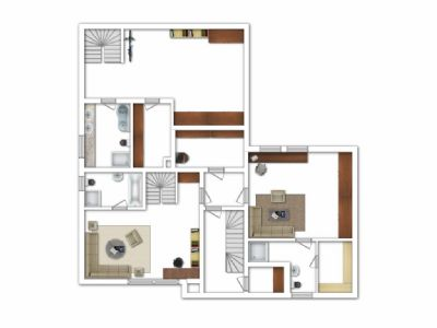 Wohnung 1 / Wohnung 2