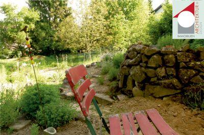Garten mit Kräuterspirale