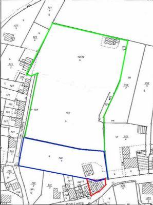 Kirchberg: Grundstück mit 17.000 qm in Baulücke in bester Lage / Hanglage