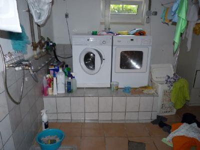 Waschraum im Keller