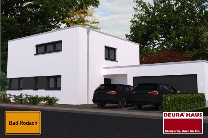 164qm Bauhaus-Architektur mit massiver Doppelgarage ...