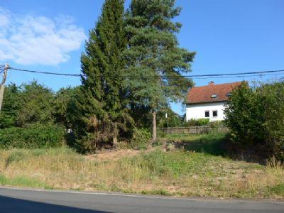 Grundstücksansicht von der Hauptstraße aus