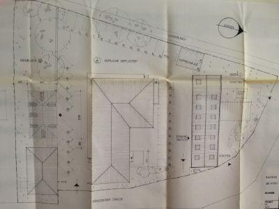 Freiflächenplan mit Gebäude