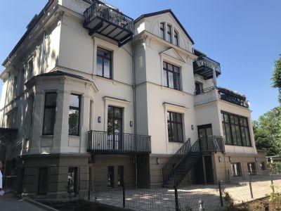 Exklusive 2 -Zimmerwohnungen auf dem Werder, Wohnen in einer Villa