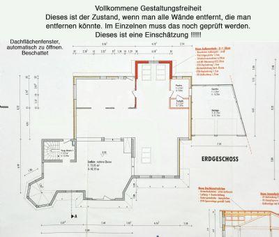 Bauzeichnung-Untergeschoss-Gestaltungsfreiheit