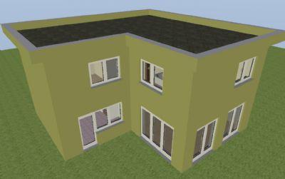 B-Haus 3D Beispiel