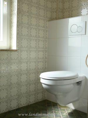 Das WC im OG