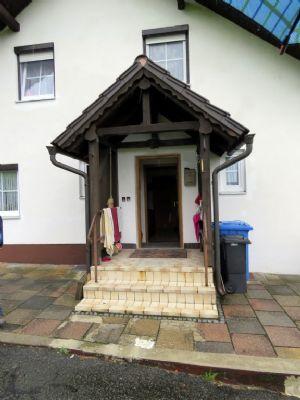 überdachter Hauseingang EFH