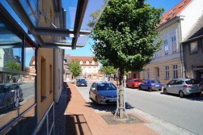 Blick in Richtung Rathaus Damgarten