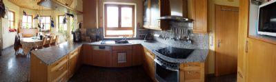 Panoramabild Küche- Esszimmer