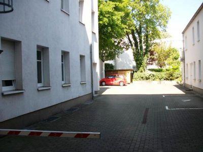 Zufahrt zum Stellplatz/ Innenhof