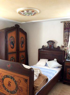Eines der kleineren Schlafzimmer im OG