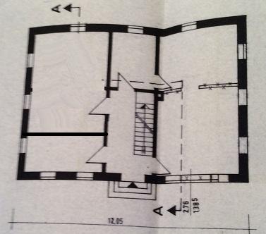 Erdgeschoss mit Gäste-WC und Dusche