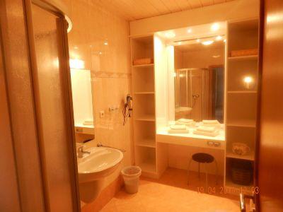 Dusche / WC in einer Wohnung