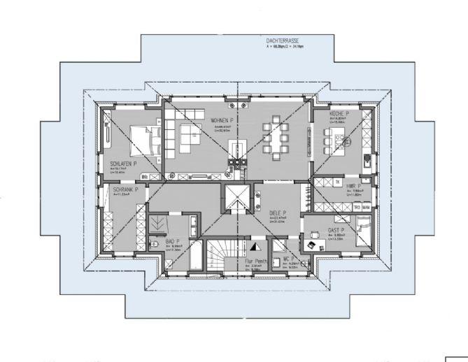 Exklusive Penthouse-Wohnung in einem detailverliebten Neubau ...