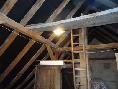 Wohnhaus Ausbaureserve im Dachgeschoss