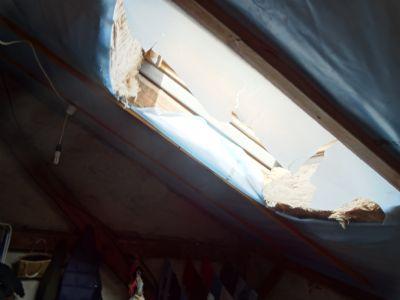 Wohnhaus Dachdämmung